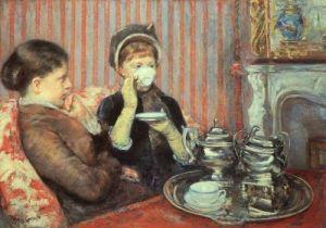 Il tè del pomeriggio secondo Mary Cassat