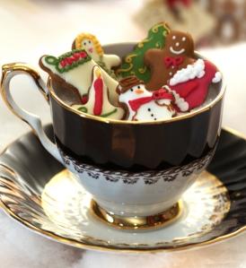 Natale tè five o clock