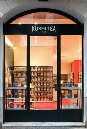 kusmi tea milano five o clock tea