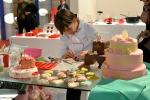 Dimostrazione di Cake Design allo stand di Pavoni