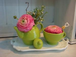 tea time floreale