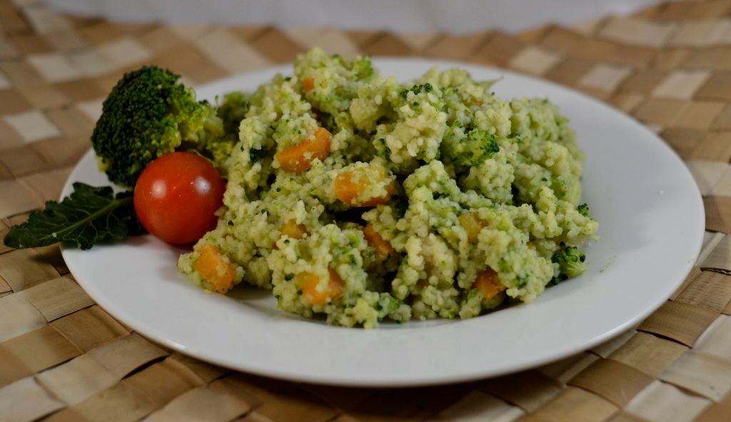 cous cous con broccoli