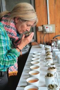Tea tasting, la degustazione del tè in India