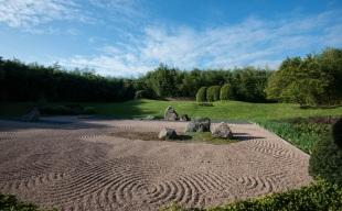 A Les Jardins De Gaia trovate anche il giardino zen