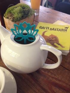 Libro e tè da Miagola
