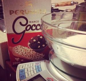 Gocciole cioccolato bianco
