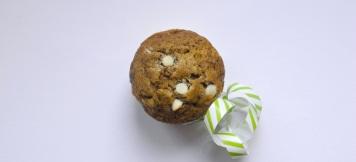 Muffin al matcha e cioccolato bianco