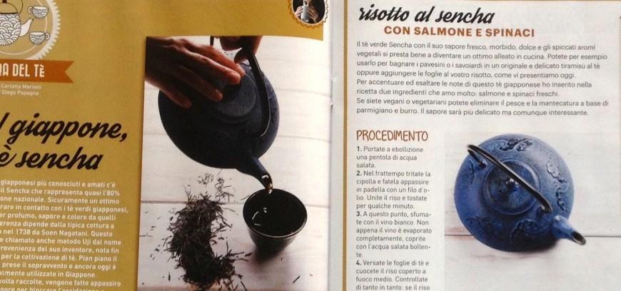Julienne, il magazine di cucina con la rubrica sul tè