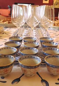 Incontro sull'abbinamento cibo-vino e tè alla Compagnia del Thè