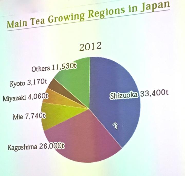Quali sono le zone più importanti per la produzione di tè giapponese?